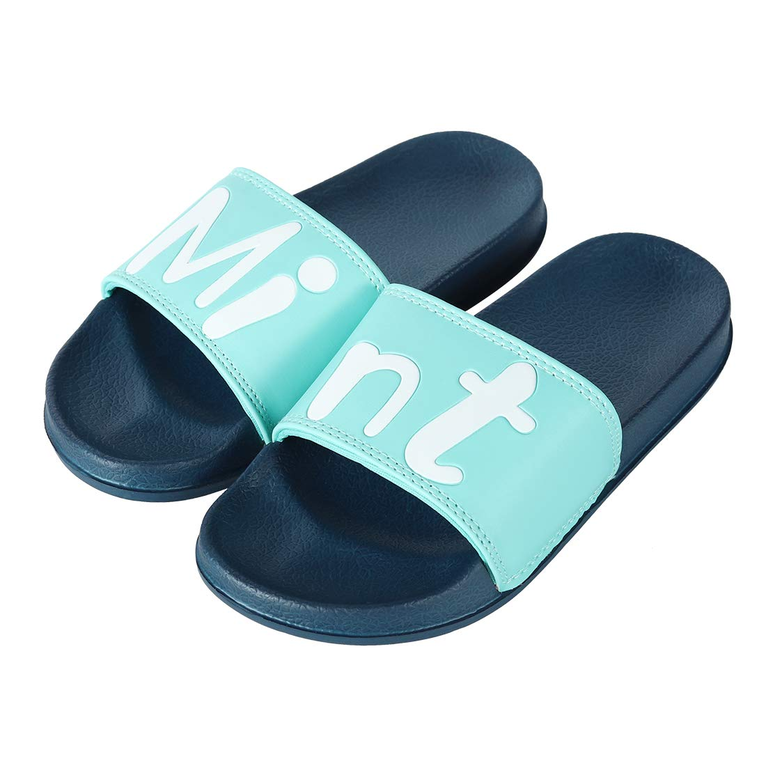 ZooYi Boys Girls Cartoon Bathroom Slide Slippers