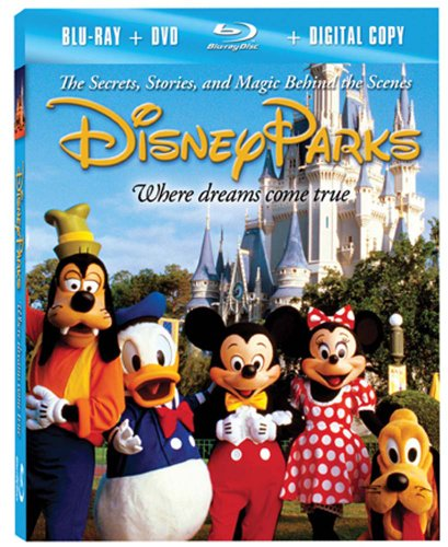 VHS : Disney Parks: The Secrets, Stories and Magic Behind the Scenes [Blu-ray plus DVD and Digital Copy]