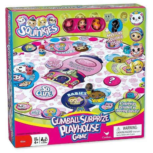 Squinkies Gumball Surprize Playhoue Board