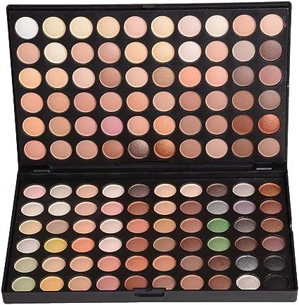 Paleta de Sombras de Ojos 120 Colores de Maquillaje Cosmético #1: Amazon.es: Belleza