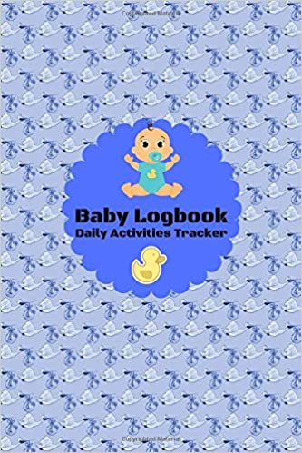baby logbook daily activity tracker daily record journal notebook