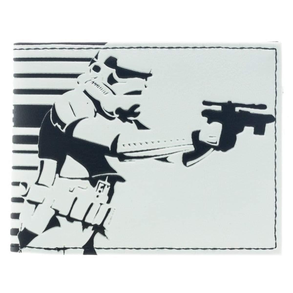 Wallet - Star Wars - Storm Trooper White Bi-Fold New Licensed Gifts mw1zu2stw B00W0LI770