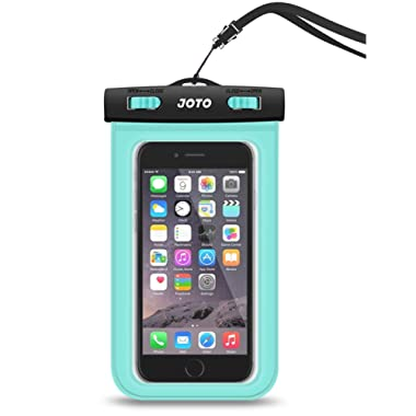 Universal Waterproof Case, JOTO Cellphone Dry Bag Pouch for iPhone X 8 7 Plus 6S 6 Plus, Samsung Galaxy S9 S9 Plus S8 Note 8 6 5 4, Google Pixel 2 HTC LG Moto Huawei BLU up to 6.0  - Green