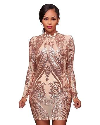 658ca8c70184 Carolina Dress Vestidos Cortos De Mujer Sexys Rojos Dorados Ropa De ...