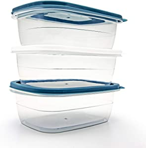 PEDECO Bento Lunch Box- Reusable Food Container for School, Work and Travel, Suitable for Children and Adults, Set Of 3
