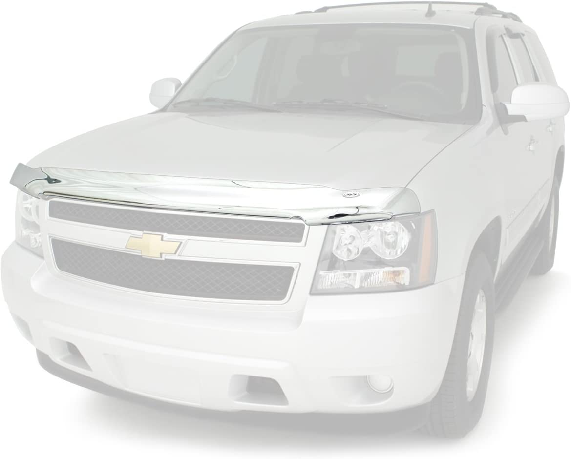 AVS 622062 Aeroskin Bug Shield Chrome Hood Protector 2014-2015 Chevy Silverado