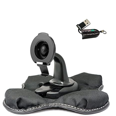 ChargerCity NonSlip Beanbag Dashboard Friction Mount for Garmin Nuvi 2557  2558 2559 2589 2597 2598 2599 2689 2699 52 54 55 56 57 58 65 66 67 68
