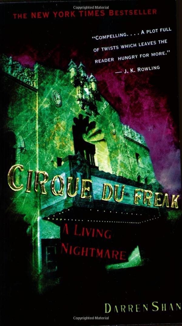 Download Cirque Du Freak #1: A Living Nightmare: Book 1 in the Saga of Darren Shan (Cirque Du Freak: The Saga of Darren Shan) PDF