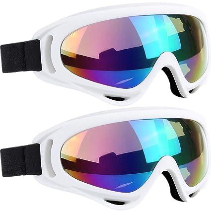 5a343e94d06d Amazon.com  2 Pack Ski Goggles