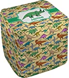 RNK Shops Dinosaurs Cube Pouf Ottoman - 13'' (Personalized)