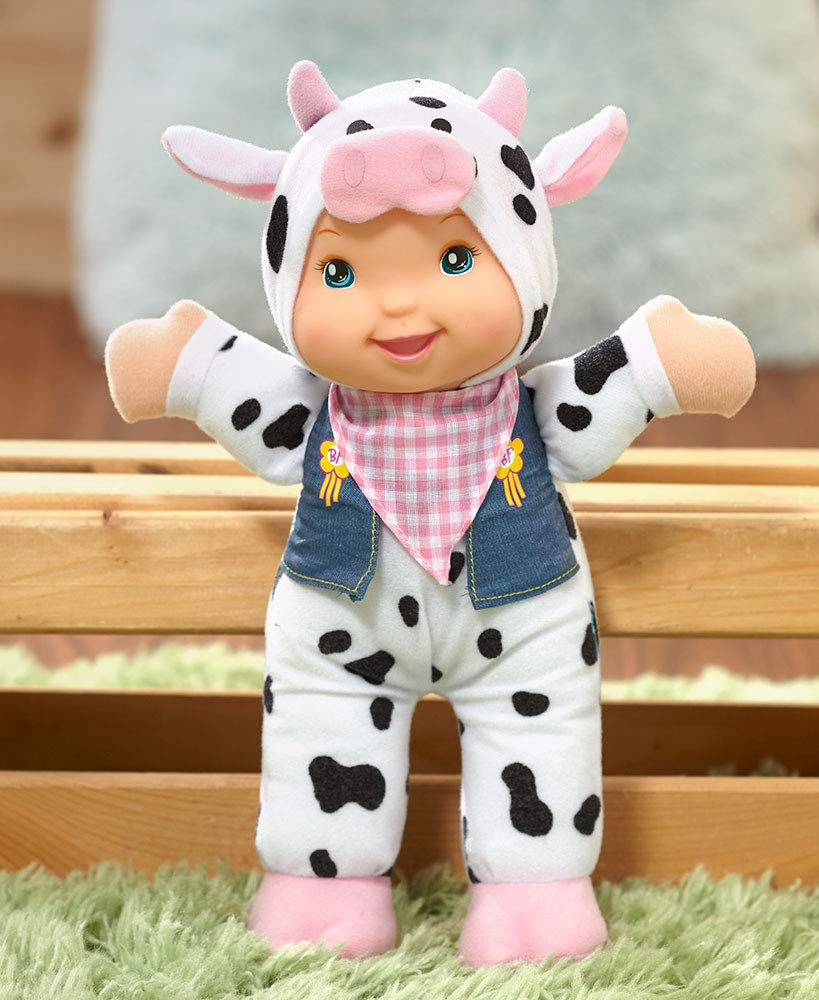 The Lakeside Collection Baby's First Singing Farm Friends Cow Sings Old McDonald