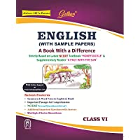 Golden English Guide: A Book with a Difference Class - 6 (For 2020 Final Exams)
