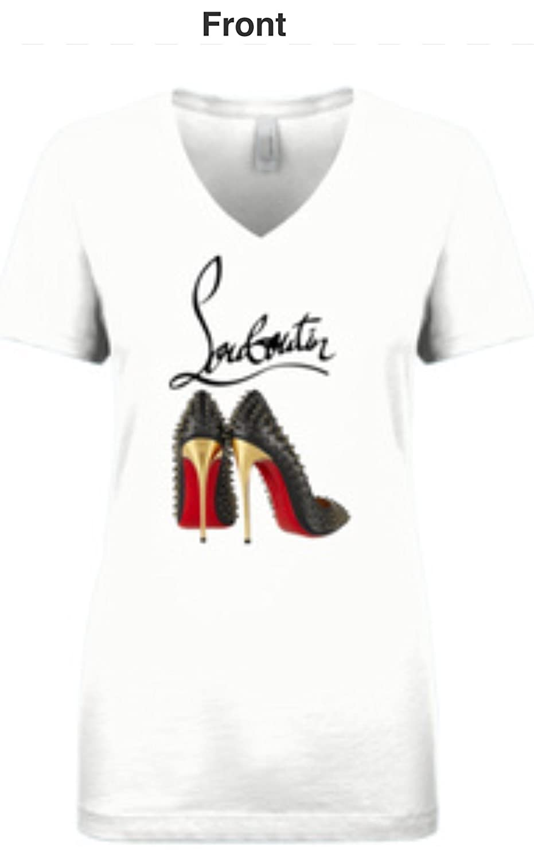 956d925e528 Christian Louboutin T Shirts Tee Shirts Tees Red Bottoms Shoes ...
