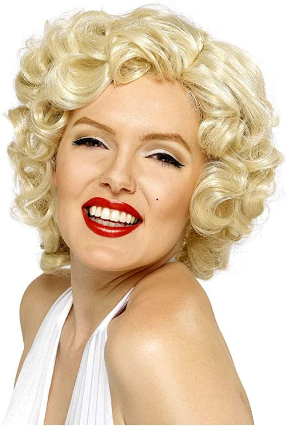 Original peluca de Marilyn Monroe: Amazon.es: Juguetes y juegos