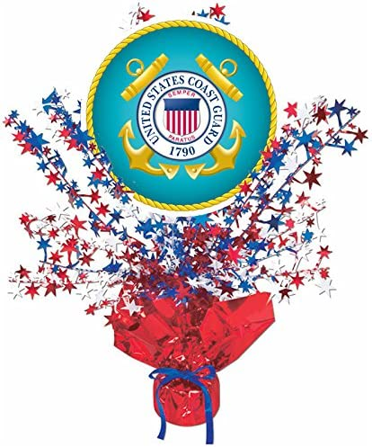 Coast Guard party table decor  Promotion 50ct USCG Confetti Retirement Enlistment. DD214