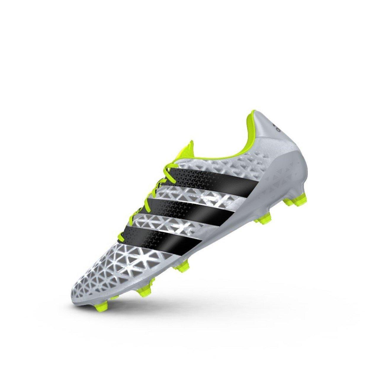 Adidas Herren Ace 16.1 FG Fußballschuhe Silber (Plateado (Plamet Negbas Amasol) 42 2 3 EU