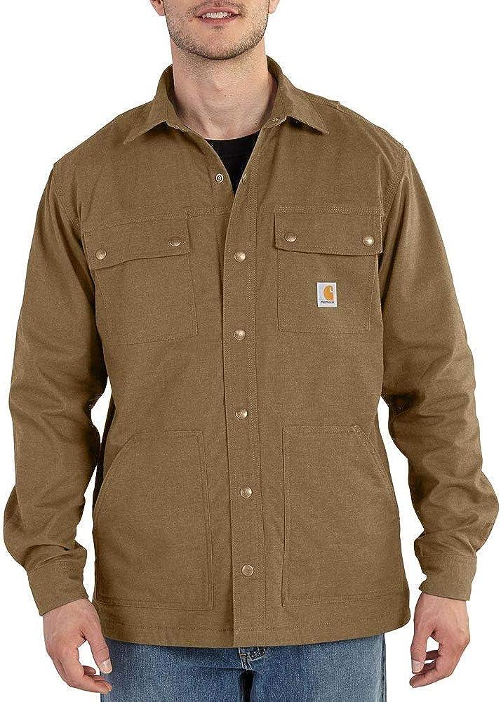 Carhartt Men's Full Swing Quick Duck Overland Shirt Jacket