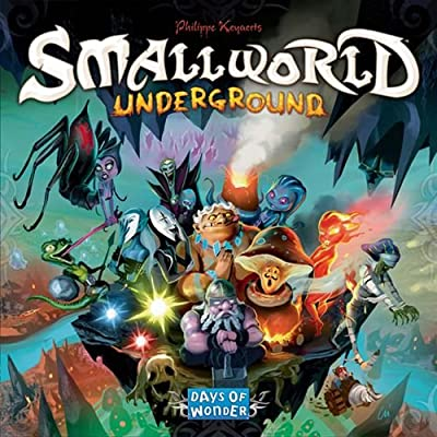Small World Underground by Days of Wonder