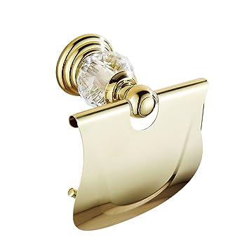 Caribou Badezimmer Wand Badezimmer Zubehor Antique Gold Kristall