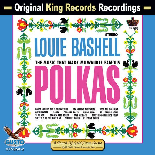 CD : Louie Bashell - Polka At It's Best (CD)