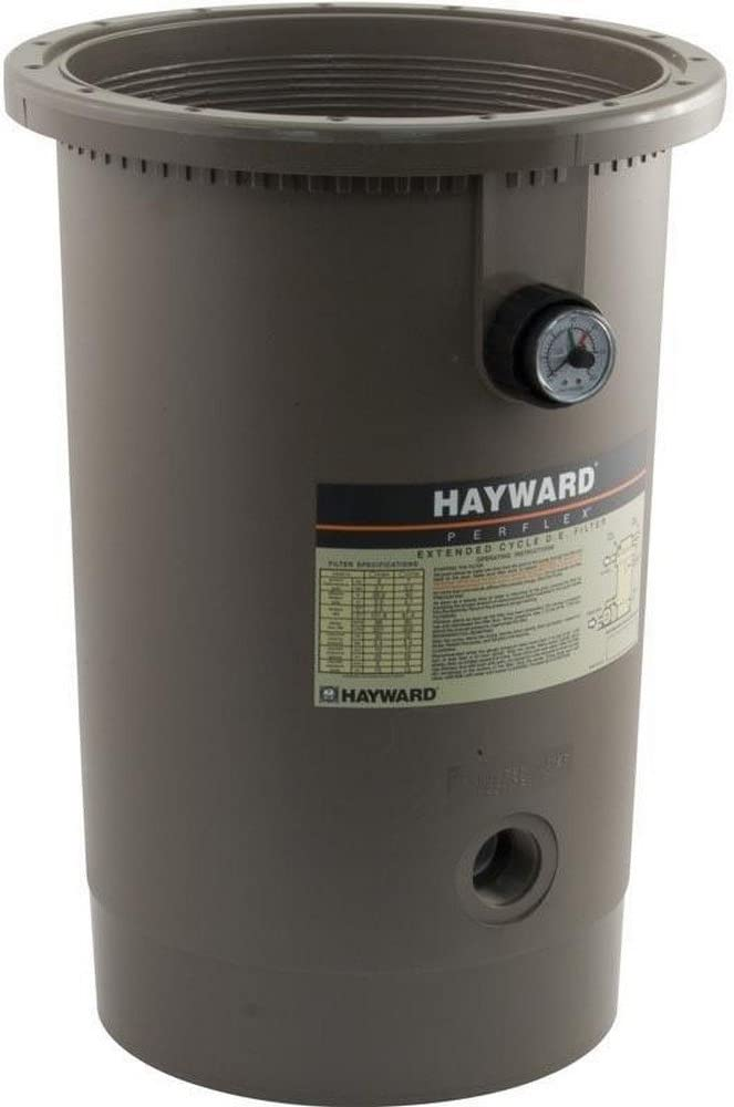 Hayward D.E.CX11184AT Filter Body with New Elbow Assembly Replacement for Hayward Perflex Extended Cycle D.E. Filter