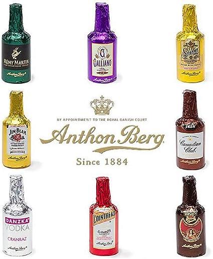 Anthon Berg Chocolate Liqueurs With Original Spirits 64 Pcs Gift Box