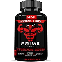 Nunu Prime Labs: Men's Test Booster, Natural Stamina, Endurance And Strength Booster