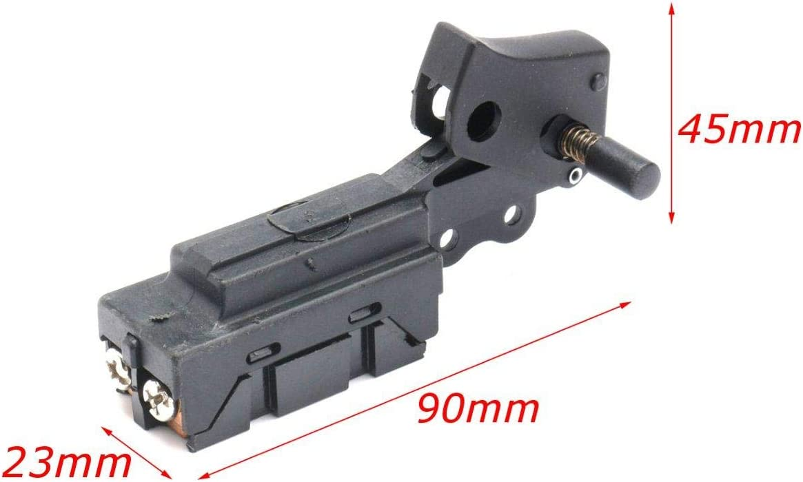 GIlH On Lock Button Spst Trigger Switch for Power Tool Cut Off Machine Switch