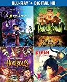 The Ultimate Laika Collection (Coraline/ParaNorman/The Boxtrolls/Kubo and the Two Strings) [Blu-ray]