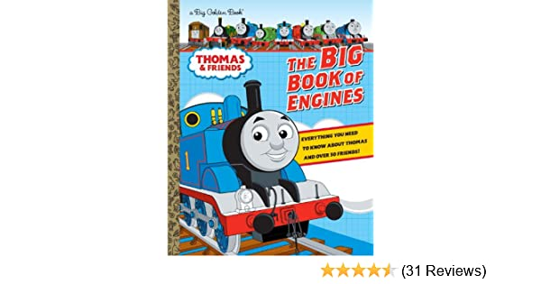 d36220b0f9c Amazon.com: The Big Book of Engines (Thomas & Friends) (Big Golden Book)  (9780307931313): Rev. W. Awdry, Golden Books: Books