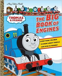 72da93318ba The Big Book of Engines (Thomas & Friends) (Big Golden Book) Hardcover –  January 7, 2014