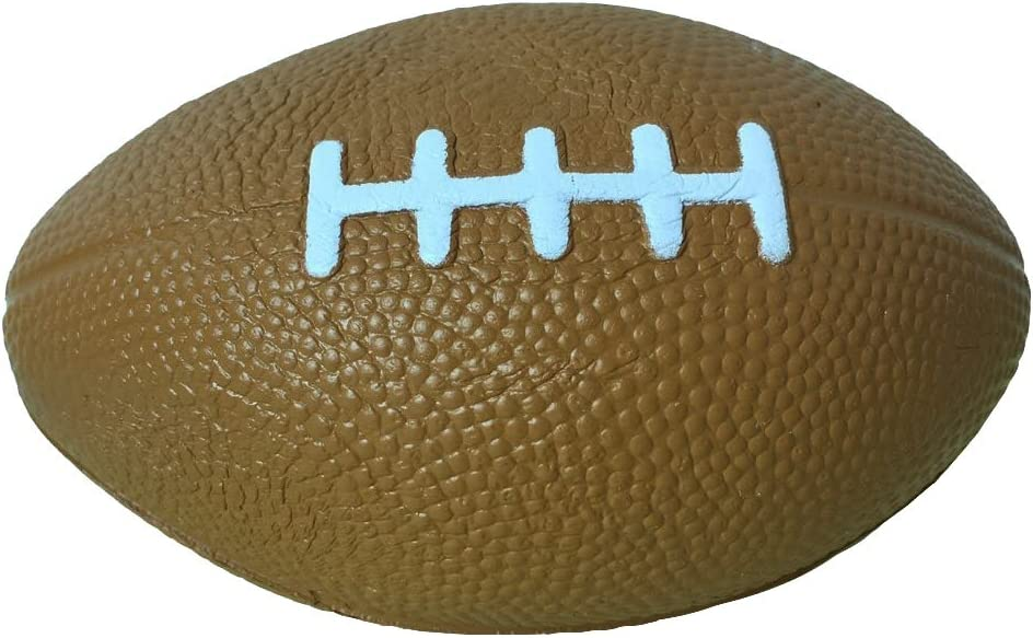 LaliLaco Squishy Mini Football Slow Rising(Length 4.85 inch) Relieve Stress Soft Toy