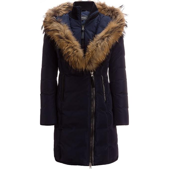 df1596f26 Mackage Kay Mid Length Classic Down Coat With Fur Collar: Amazon.ca ...