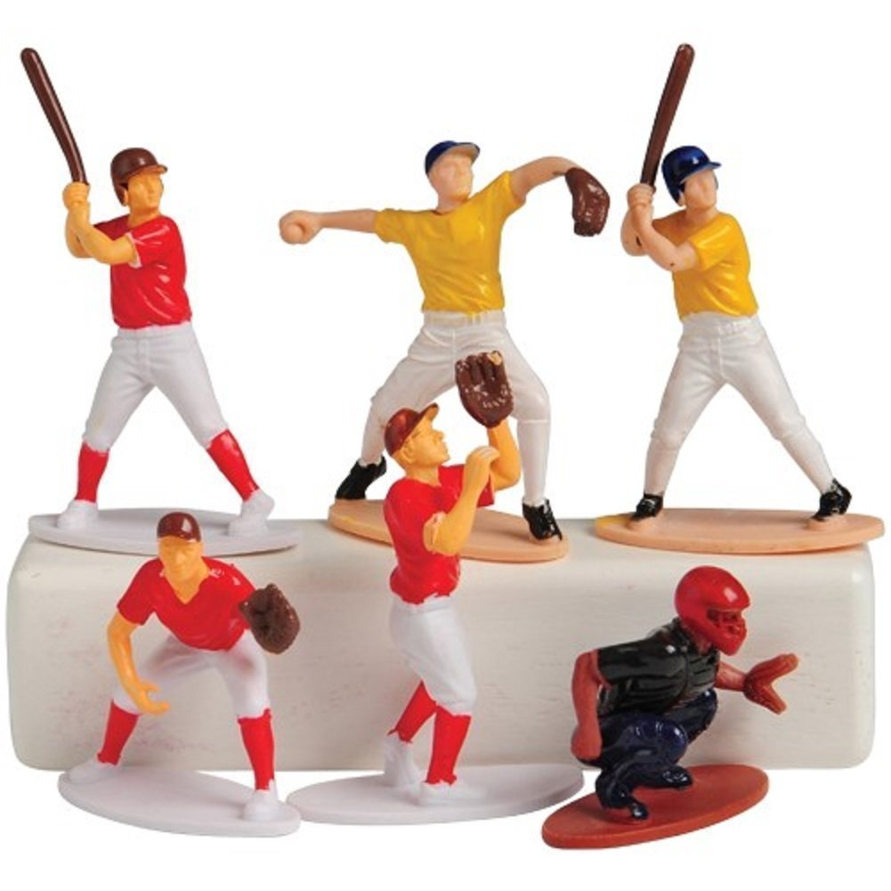 24 Pack US Toy Baseball Toy Figures