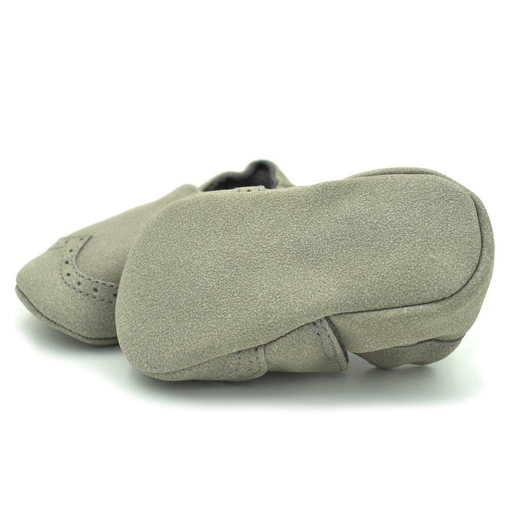 HOSOME Toddler Shoes Baby Boys Girls Newborn Shoes Soft Infants Soft Nubuck Shoes