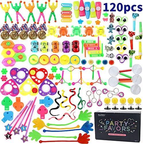 [スポンサー プロダクト]Amy & Benton おもちゃの景品 120個セットで、子供会おもちゃとか射的・輪投げとかくじ引き 景品とか教室賞品とかこどもの誕生日プレゼント とか使えって、入園お祝いとしてもいい。