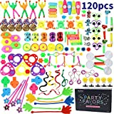 Amy&Benton 120PCS Treasure Box Prizes for Classroom, Kids Birthday Party Favors for Goodie Bag Fillers, Assorted Pinata Fillers, Bulk Party Toy Assortment
