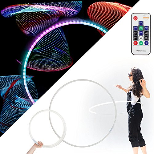 All Light Led Glow Hula Hoop
