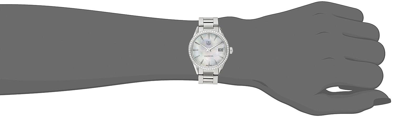 TAG Heuer Women s WAR1315.BA0778 Carrera Analog Display Swiss Quartz Silver Watch