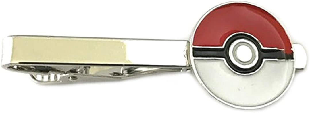 Pokemon Pokeball plata tono hombre Boy s corbata Bar w/caja de ...