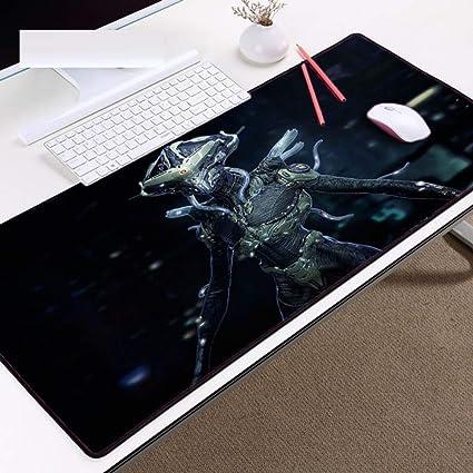 LIXB Almohadillas para ratón para el tapete de Mesa Estilo zurdo de Monstruo Alien Zerg para Juego de PC, 80 x 30cm: Amazon.es: Electrónica