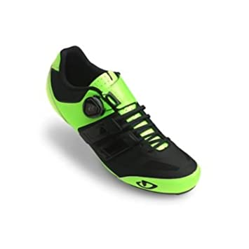 Giro Sentrie Techlace Shoes Highlight Yellow / Black 39 & E-Tip Glove Bundle