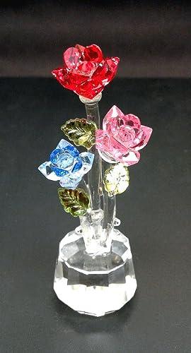 Crystal World Triple Roses