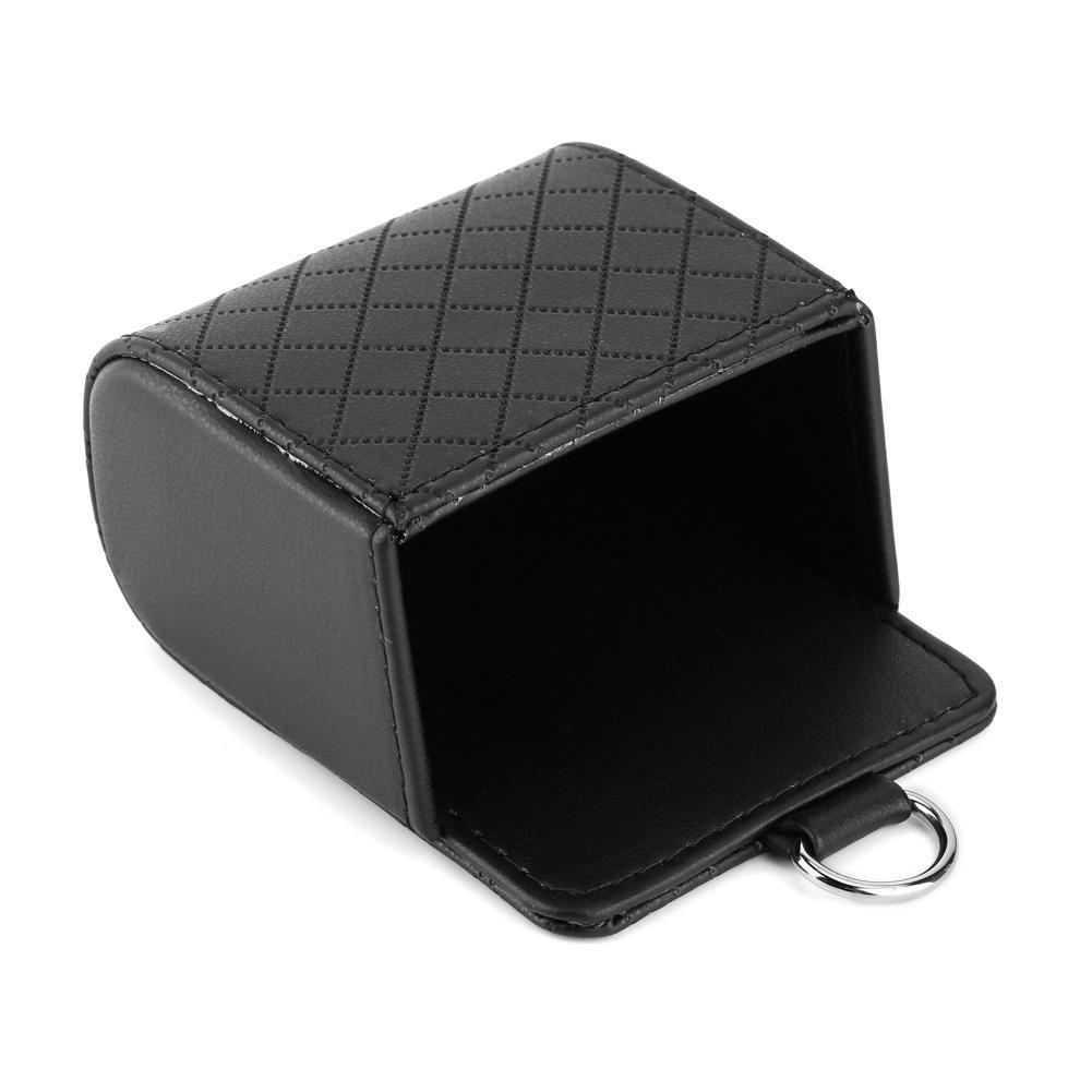 Car Organizer Pocket Auto Storage Organizer Box Car Universal Storage Pouch Bag Phone Mod Sun Glass Box Holder Pocket Organizer Gray
