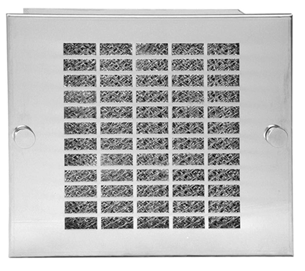 HAMMOND, XFG4, Cooling Fan 4'' Grill & Filter