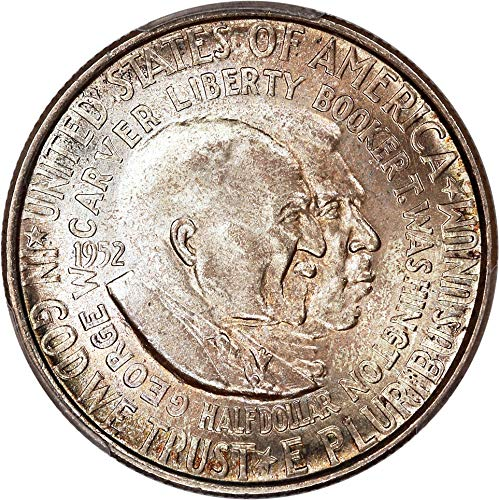 1952 P Silver Commemoratives Washington-Carver Half Dollar MS66 PCGS ()