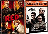 Action Thriller Bundle - Red & Killer Elite 2-Movie Collection