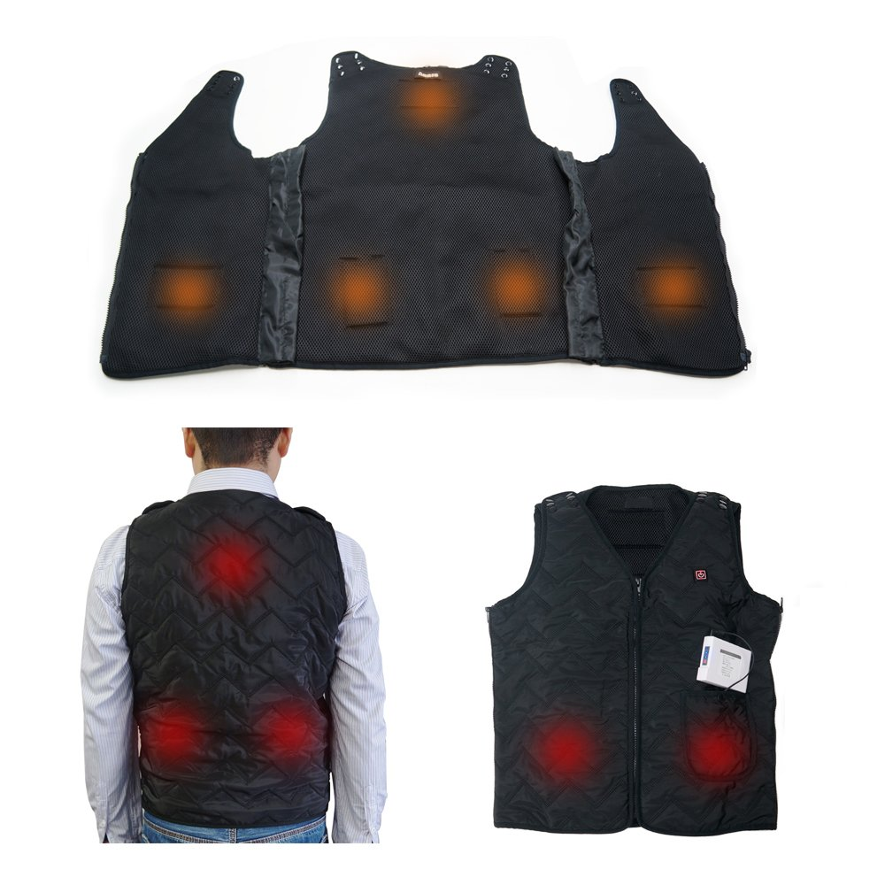 ARRIS Rechargable Heated Warm Vest Size Adjustable for outdoor use Hobby-Wing XA0001
