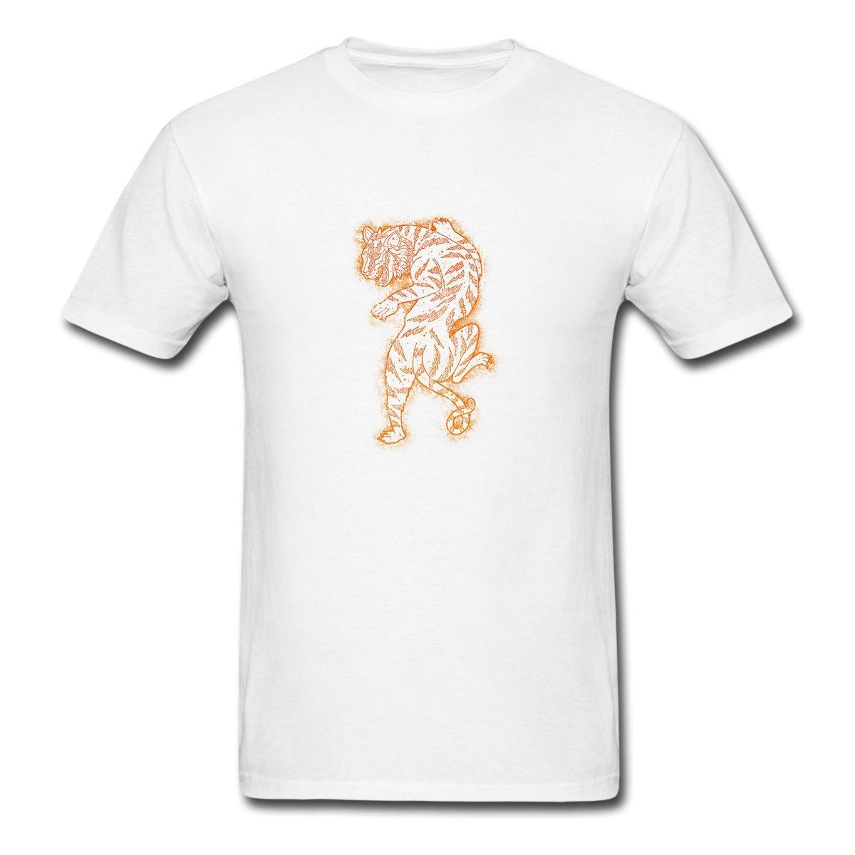 Amazon Lingonie Electric Tiger Mens Fashion Cotton Solid Color