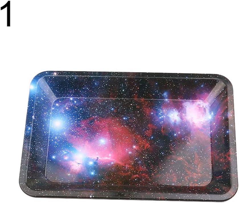 Lsgepavilion - Bandeja de Fumar (180 x 125 mm), Starry Sky#, Talla única